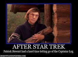 Capt Picard Meme - twin peaks fire walk with meme strange kids club