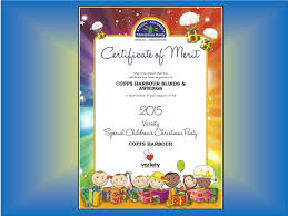 2015 sponsorship of the special kids xmas party coffs harbour