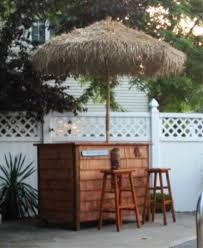 Ebay Patio Umbrellas by Bamboo Thatch Tiki Umbrella For Patio Bar Palapa Set Choice Of 3