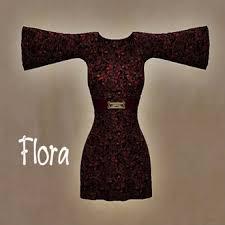 second life marketplace ga flora hippy dress