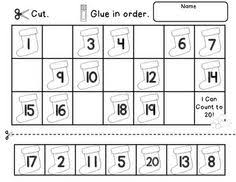 Grade 1 Counting To 20 Worksheets Numbers 1 20 Worksheets Activities And Math