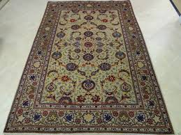 Traditional Persian Rug by A Traditional Persian Kashan Area Rug Light Green Medallion Shah