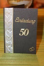 ideen zur goldenen hochzeit einladungskarten goldene hochzeit basteln sajawatpuja