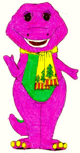 barney in his winter clothes by bestbarneyfan on deviantart