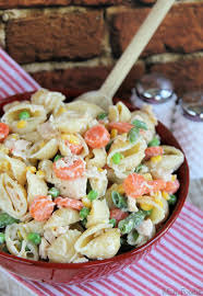 chicken dinner pasta salad easy weeknight recipe foodie