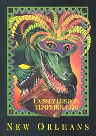 mardi gras alligator jazzystuff presents cacy zydeco alligator mardi gras poster