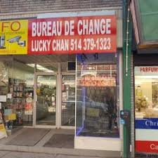bureau de change bureau de change lucky chan currency exchange 6652a rue