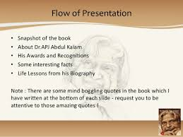book wings of fire autobiography of dr apj abdul kalam