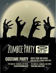 zombie party invitations u2013 gangcraft net