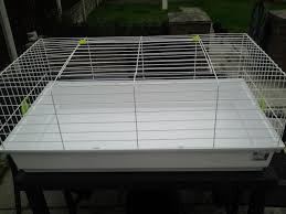 Metal Rabbit Hutch Large Indoor Rabbit Cage Hutch 3ft Warrington Cheshire Pets4homes