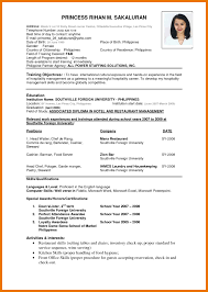 Best Resume Format For Job Job Application Resume Format Pdf Free Resume Example And
