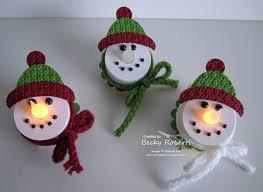 votive candle snowman snowman tea lights winter christmas kids