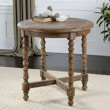Distressed Wood End Table Western End Tables Hochberg End Table Western End Tables Full