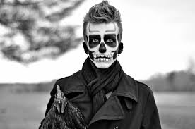 day of the dead skull makeup for mens mugeek vidalondon