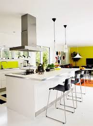 Yellow Accent Wall Open Living With Distinct Color Views Accent Walls Cococozy