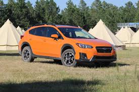 small subaru hatchback first drive 2018 subaru crosstrek review leftlanenews