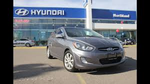 2013 hyundai accent gls manual northland hyundai youtube