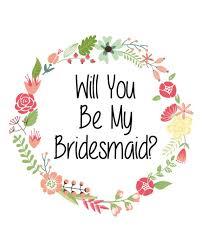 will you be my bridesmaid will you be my bridesmaid label