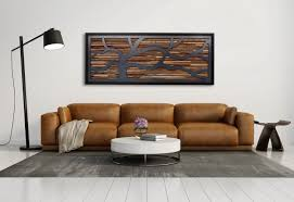 made wood wall sculpture made of barnwood and