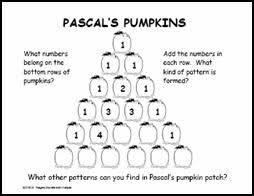mathwire pascal u0027s pumpkins