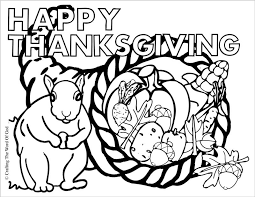 coloring page impressive cornucopia coloring thanksgiving page