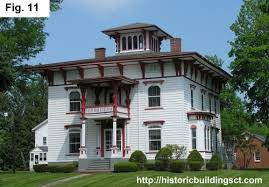 italianate home plans historic buildings of connecticut picturesque houses revival