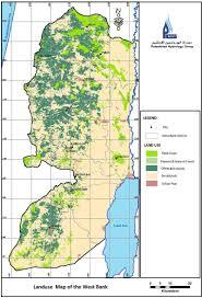 West Bank Map Palestinian Hydrology Group