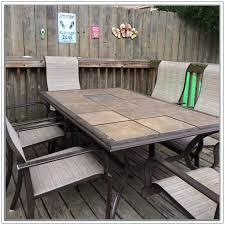 Tile Top Patio Table Tile Top Patio Tables Furniture Neat Patio Furniture Backyard