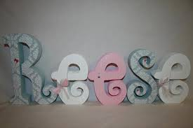 baby nursery decor perfect sample wooden letters for baby nursery