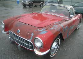 corvette project for sale 1954 corvette for sale