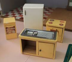 Dollhouse Kitchen Furniture by A Vintage Custom Kitchen For The Betsy Mccall Dollhouse Retro