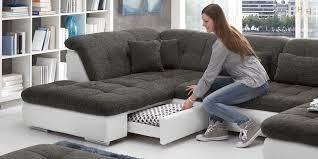 xxl wohnlandschaft wohnlandschaft xxl sofa bettfunktion stoff eck sofa couch ecksofa