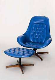 Blue Leather Chair And Ottoman 57 Best Statement Furniture Images On Pinterest Furniture Ideas