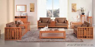 Wooden Sofa Sets For Living Room Wood Living Room Furniture Freda Stair