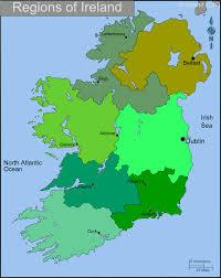 Dublin Ireland Map Ireland Regions Map U2022 Mapsof Net