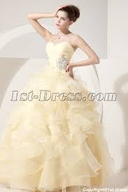 quince dress daffodil yellow best quince dress with sweetheart 1st dress