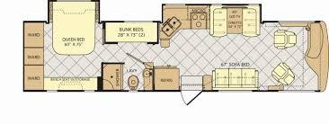 rv bunkhouse floor plans travel trailers with bunk beds floor plans elegant 48 new class c