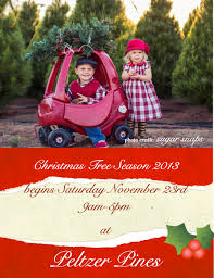 peltzer pines christmas tree farms in brea yorba linda and
