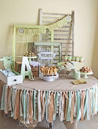 shabby chic baby shower cakes how gorgeous is this dessert table