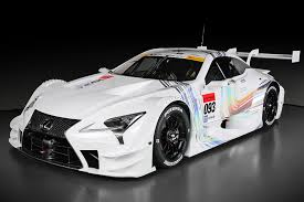 lexus sports car 2016 all new lexus race car revealed for 2017 super gt series