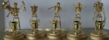 Plastic Halloween Skeletons Diy Halloween Costume Contest Award Trophies