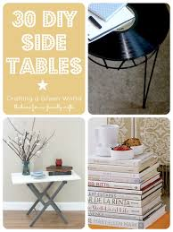Diy Side Table 30 Diy Side Tables Reduce Reuse Redecorate