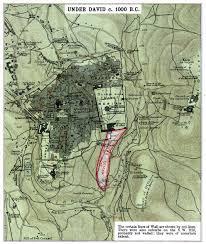 Map Of Isreal King David Jerusalem Map