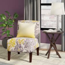 zipcode design eugenia floral side chair u0026 reviews wayfair
