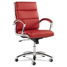leather office chair ebay