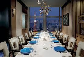 Restaurant Dining Room Michelin Star French Restaurants In Tokyo The Ritz Carlton Tokyo