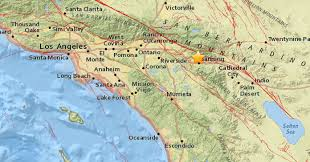 Earthquake Los Angeles Map by 4 5 Earthquake Shakes Los Angeles