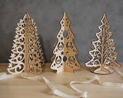Wholesale Christmas Decorations Netherlands by Wood Christmas Tree Etsy