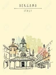 architektur reisen bergamo italien europa historische altstadt italienische