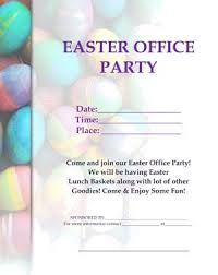 office party flyer easter activities for the office small business free forms